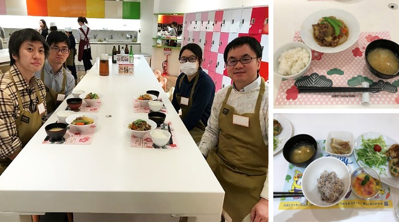Recent event:Cooking class